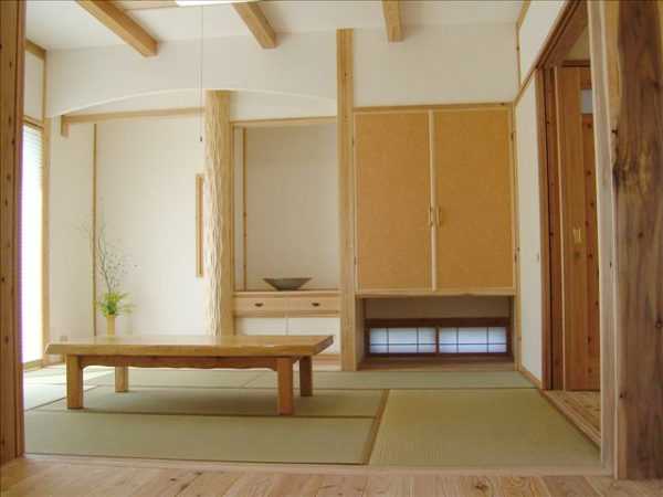 竹炭を入りの畳『清活畳』