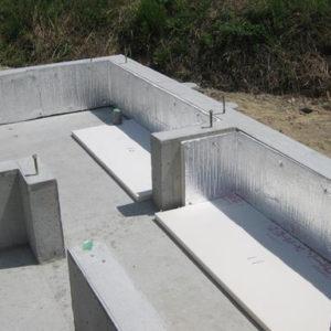 基礎断熱工事で外部からの熱も遮断