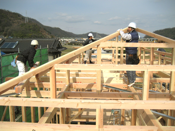 地震に強い『オール4寸・骨太耐震構造』