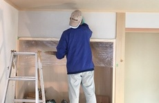 本物の健康住宅(室内塗り壁)の画像